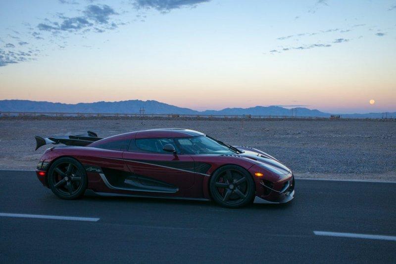 Koenigsegg Agera RS – новый мировой рекордсмен
