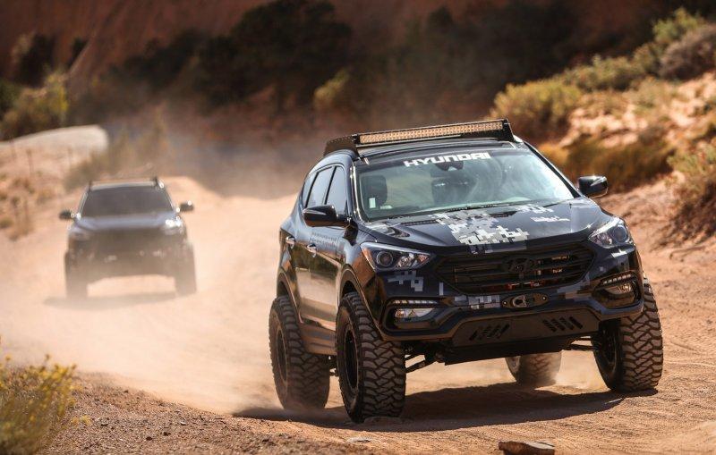 Hyundai показал концепт Rockstar Energy Santa Fe Sport