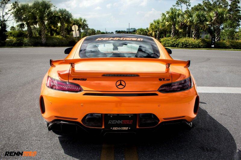 Модифицированный Mercedes-AMG GT R от Renntech