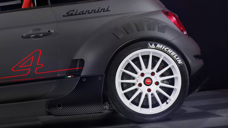 350-сильный полноприводный Fiat 500 от Giannini