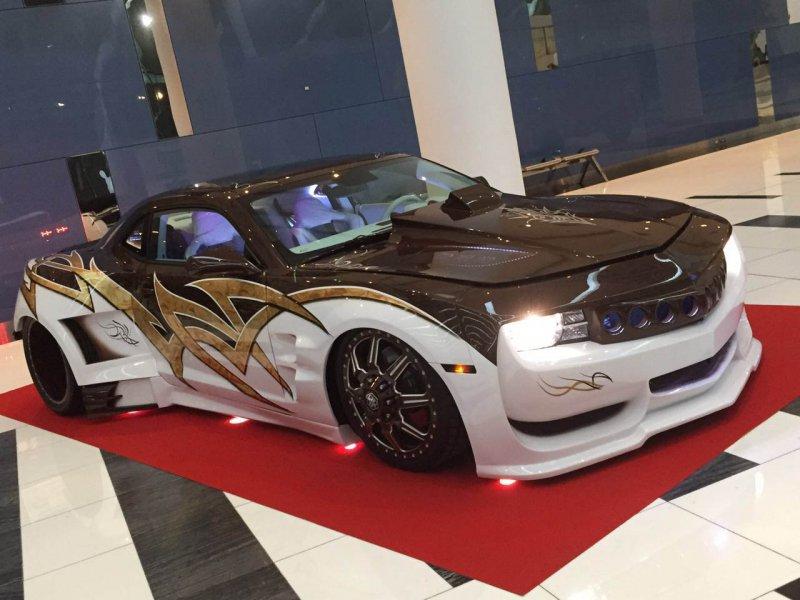 UAE Muscle – кастомизированный Chevrolet Camaro из Абу-Даби