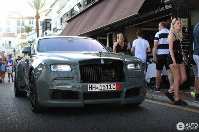 Модифицированный Rolls-Royce Wraith от Novitec