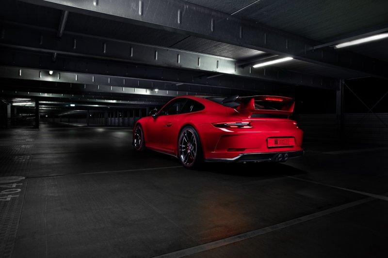 Porsche 911 GT3 в тюнинг-пакете от TechArt