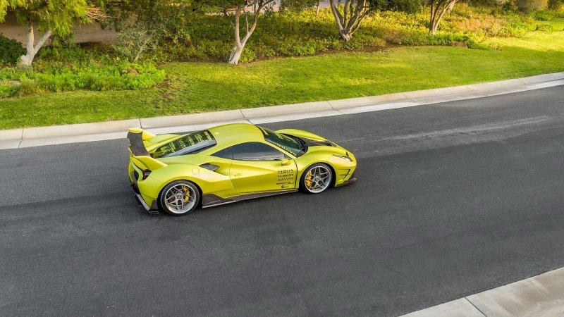 Ferrari 488 GTB в тюнинге от Misha Designs