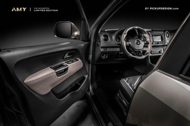 Volkswagen Amarok в исполнении Pickup Design