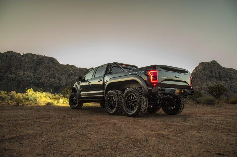 6-колесный Ford F-150 Raptor от Hennessey обойдется покупателям в 349 000 $