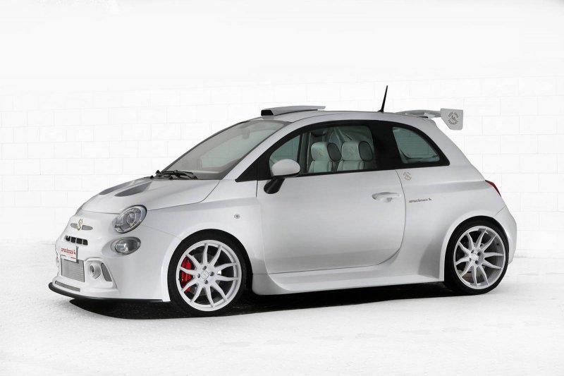 250-сильный Fiat 500 от мастеров из Romeo Ferraris