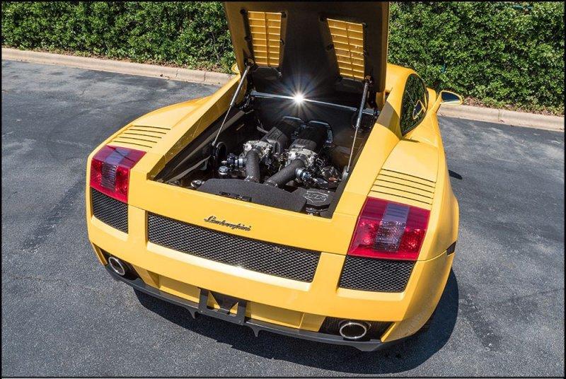 Мастера из Underground Racing создали мощнейшую Lamborghini Gallardo