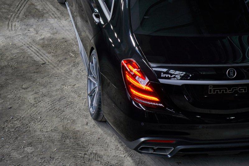 710-сильный Mercedes-AMG S63 от IMSA
