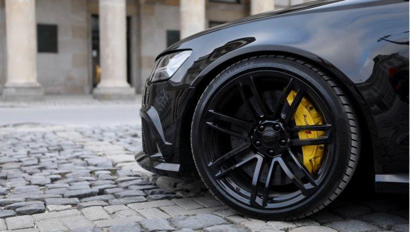 Audi RS6 Avant в оболочке S6 Sedan