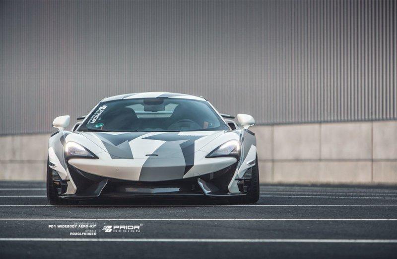 Prior Design рахработал эродинамический комплект для McLaren 570S