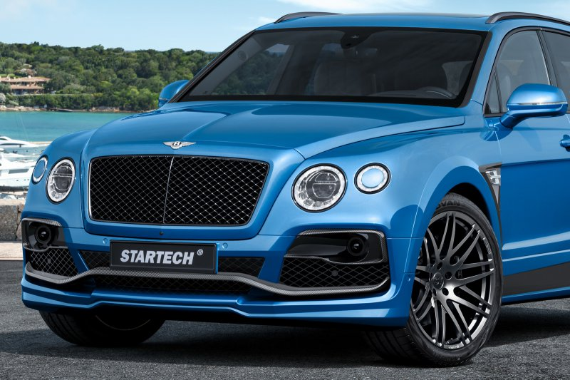 Мастера Startech сделали Bentley Bentayga еще мощнее