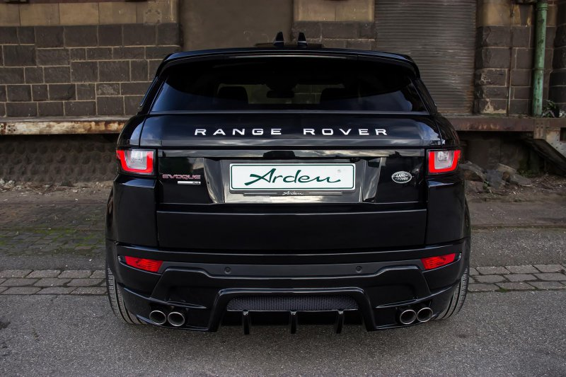 Мастерская Arden освежила линейку Range Rover Evoque