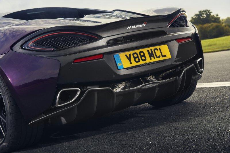 McLaren расширил возможности тюнинга для линейки Sports Series