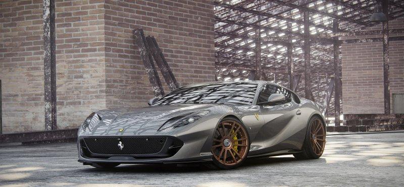 Комплект апгрейдов для Ferrari 812 Superfast от Wheelsandmore