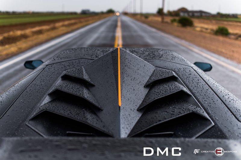 DMC представила тюнинг-комплект для Lamborghini Aventador