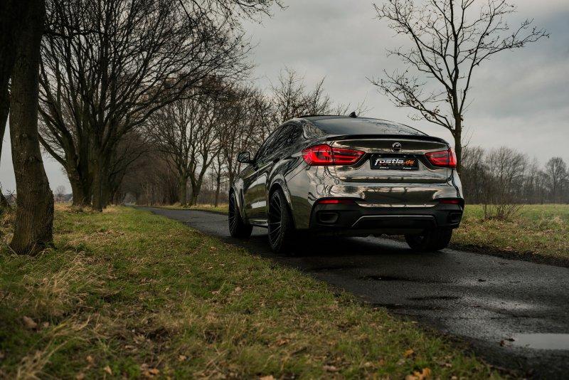 BMW X6 M50D в тюнинге Fostla и Hamann