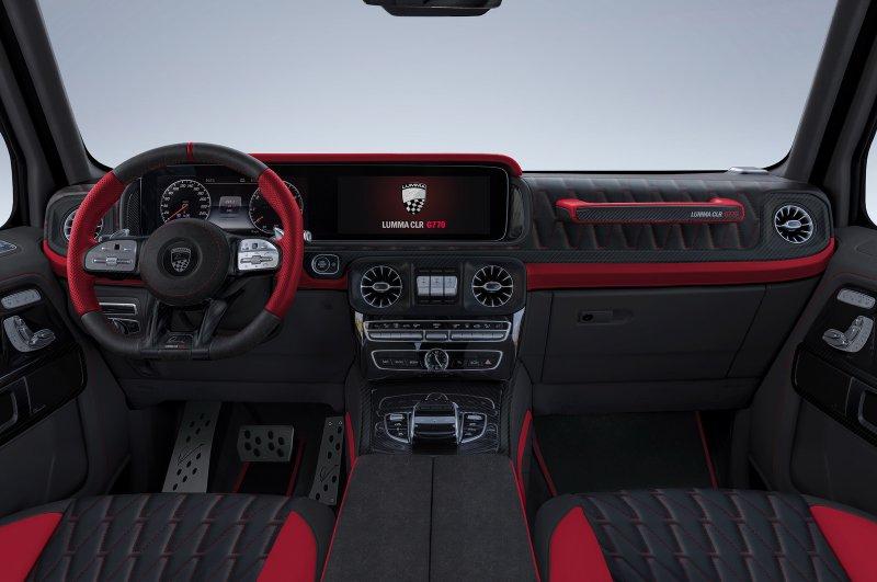 Lumma Design опубликовала тюнинг-проект для Mercedes-AMG G63 2019