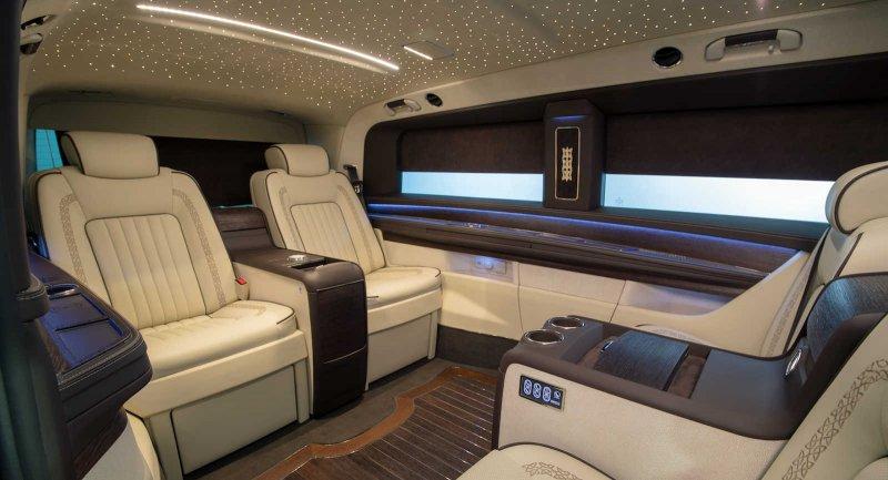 Mercedes V-Class в тюнинге OKCU Individual Automotive Concepts