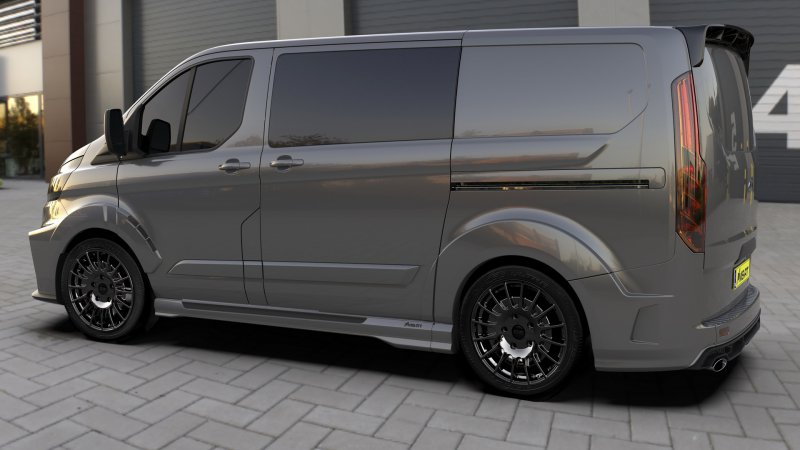 Ford Transit Custom в тюнинге MS-RT