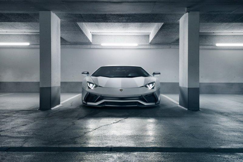 Lamborghini Aventador S от мастеров Novitec