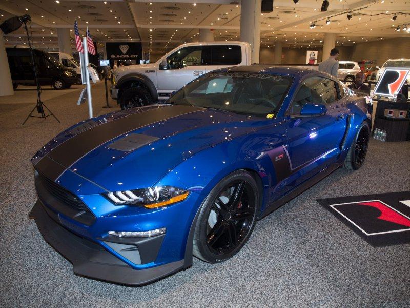 710-сильный Ford Mustang GT в исполнении Roush