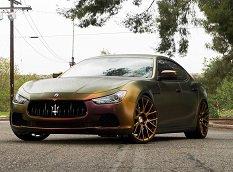 Кастомизированный Maserati Ghibli от Forgiato