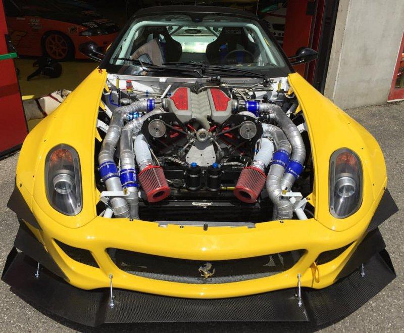 800-сильный Ferrari 599 для Formula Drift