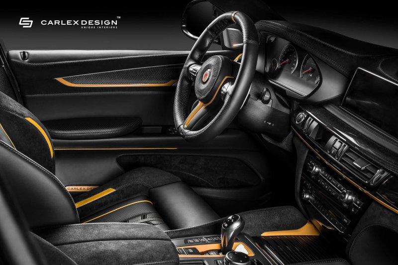 BMW X6 в тюнинге Manhart и Carlex Design