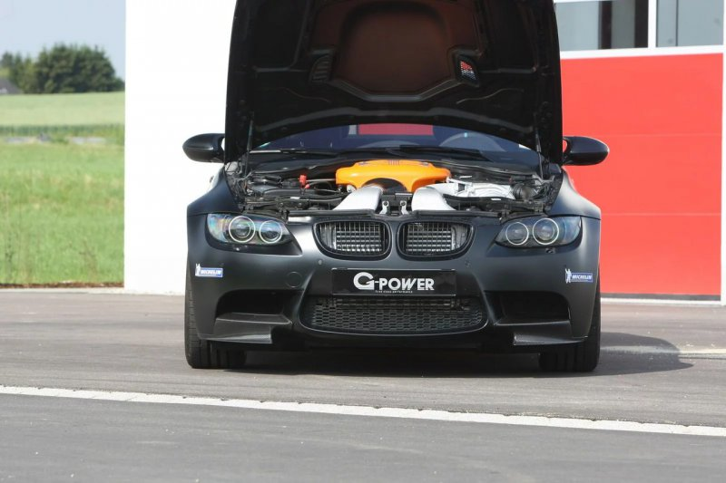 Нагнетатель на BMW M3 от G-Power за 3700$