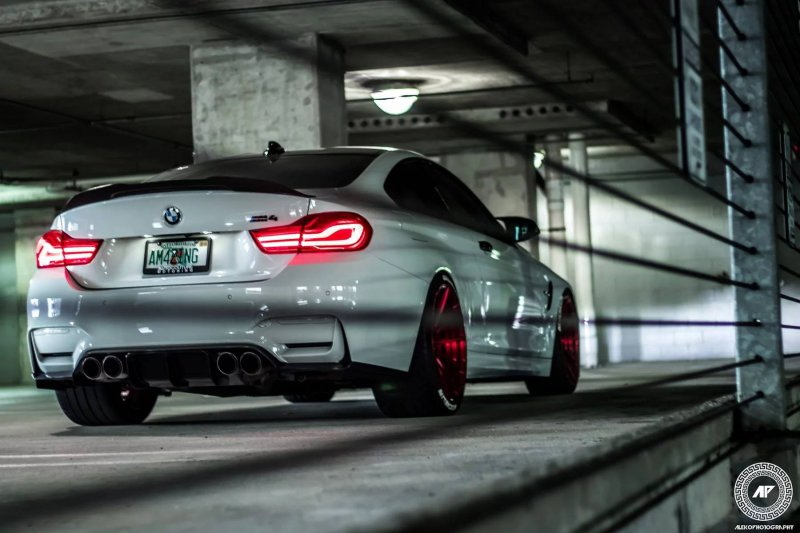 702-сильная BMW M4 от мастеров ADV1 Wheels