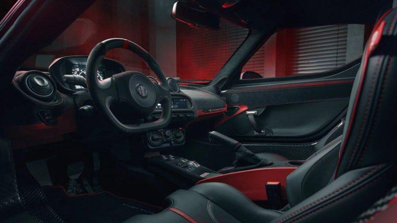 Alfa Romeo 4C в исполнении Pogea Racing