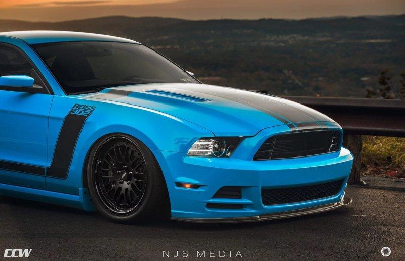 Ford Mustang Boss 302 на дисках от CC Wheels
