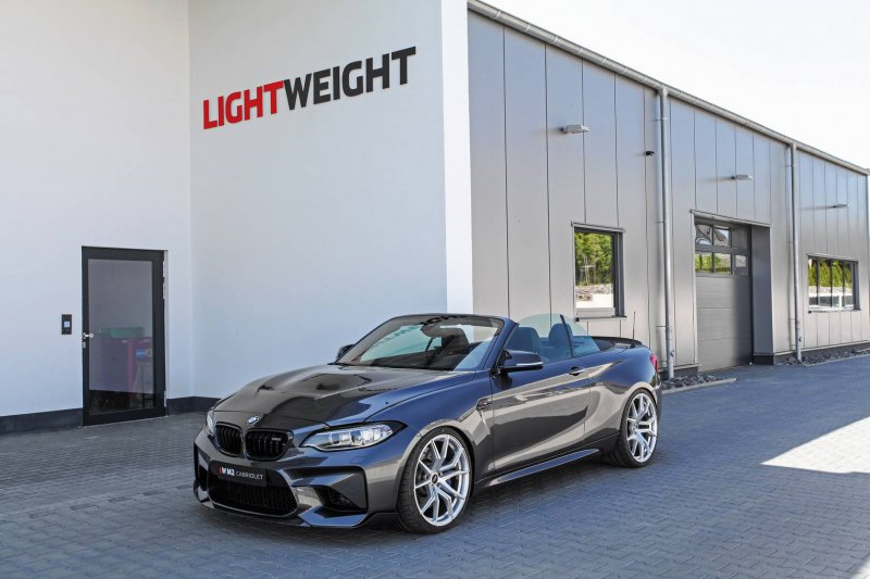 Кабриолет BMW M2 в версии мастеров Lightweight