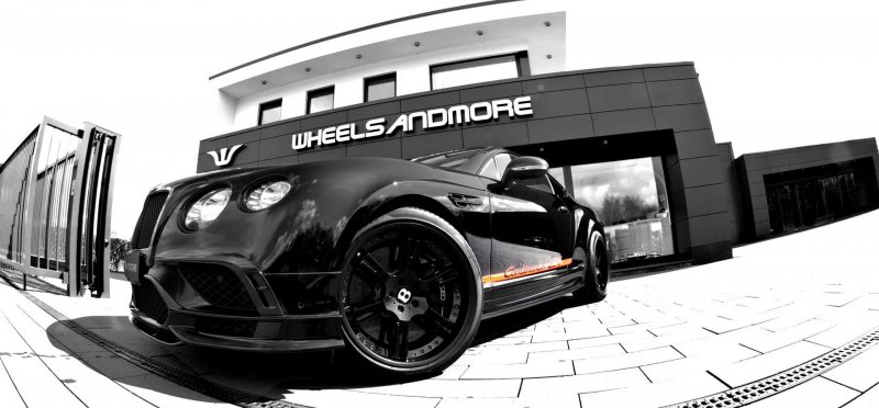 Wheelsandmore кастомизировали Bentley Continental 24