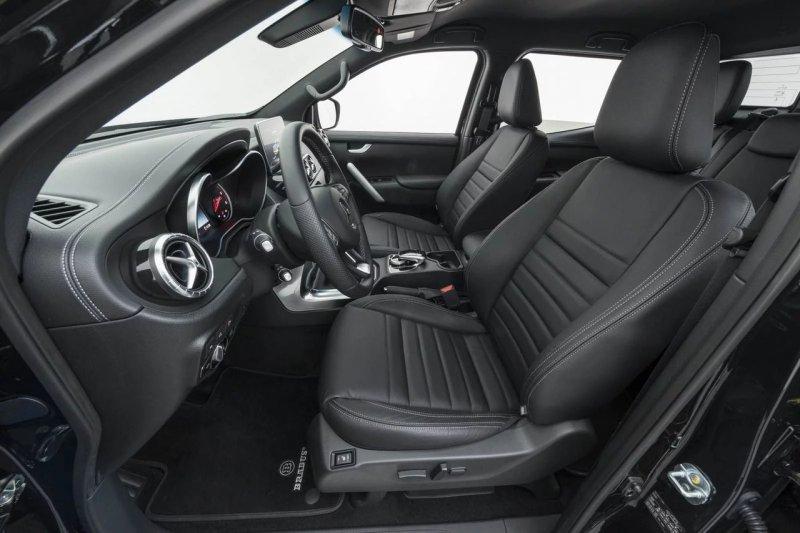 Brabus модифицировал новый Mercedes X-Class 250d