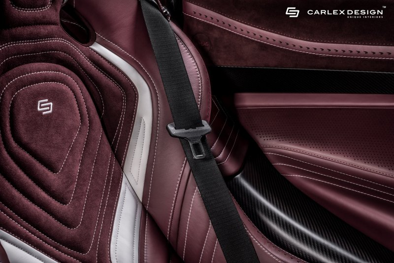 Carlex Design кастомизировали салон McLaren 720S