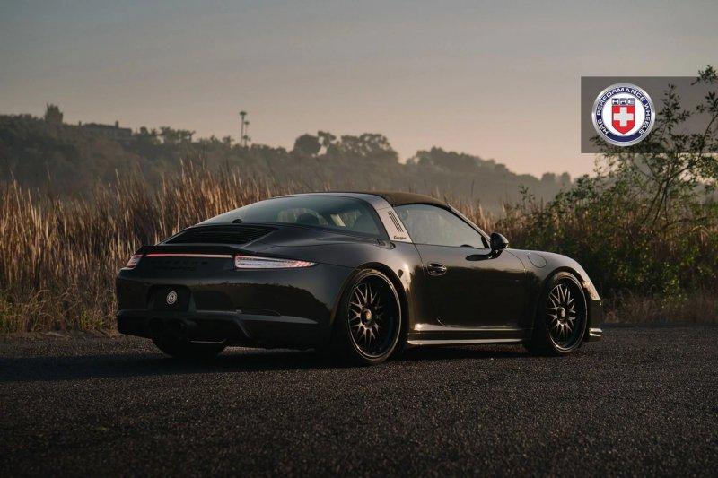 Porsche 911 (991) Targa 4 GTS на дисках HRE