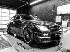 818-сильный Mercedes-AMG C63 от мастеров McChip-DKR
