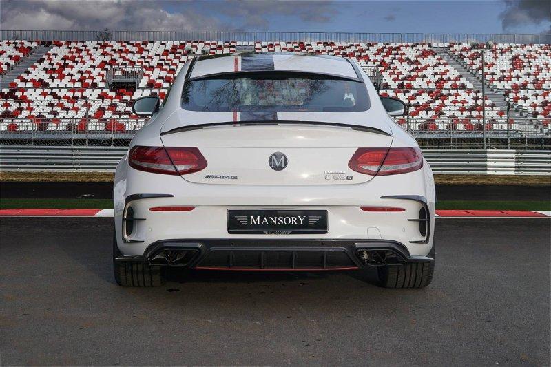 650-сильный Mercedes-AMG C63 в исполнении Mansory