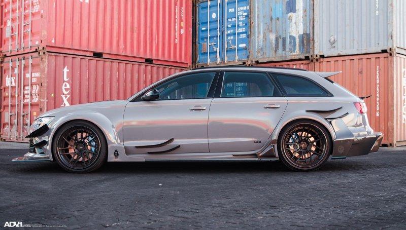 Гоночная Audi RS6 в версии мастеров Race!