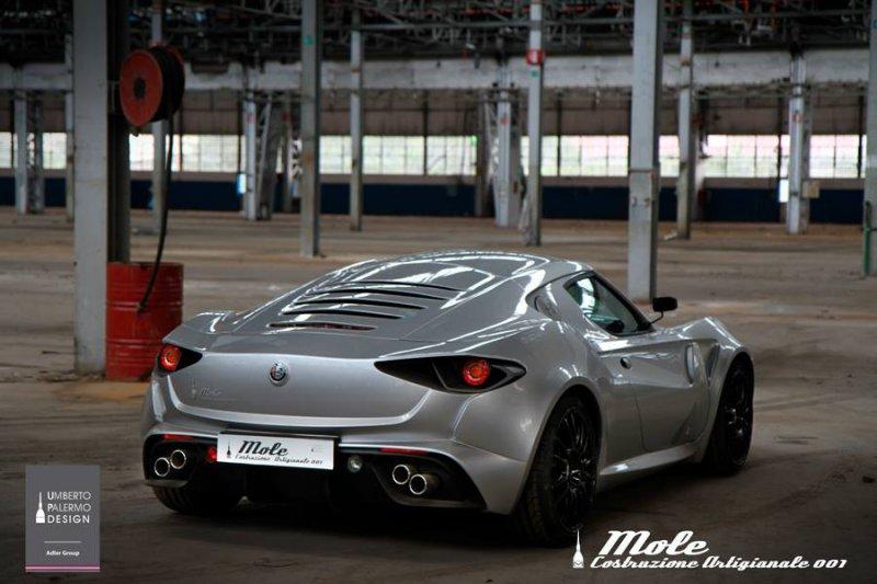 Alfa Romeo 4C с кастомным обвесом от Mole Design