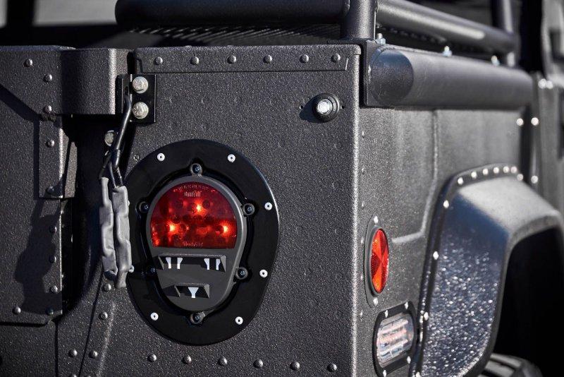 Мастера Mil-Spec кастомизировали Hummer H1