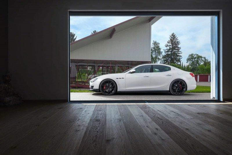Maserati Ghibli в тюнинге мастерской Novitec
