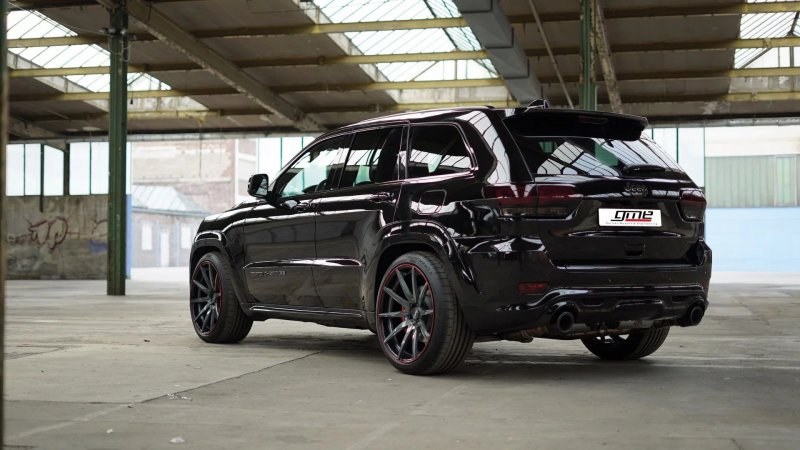 Jeep Grand Cherokee SRT от мастеров GME