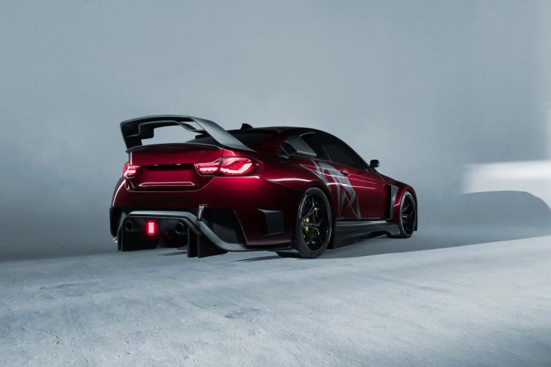 Hoffy Automobile превратили BMW M4 в 750-сильную Mamba GT3 Street