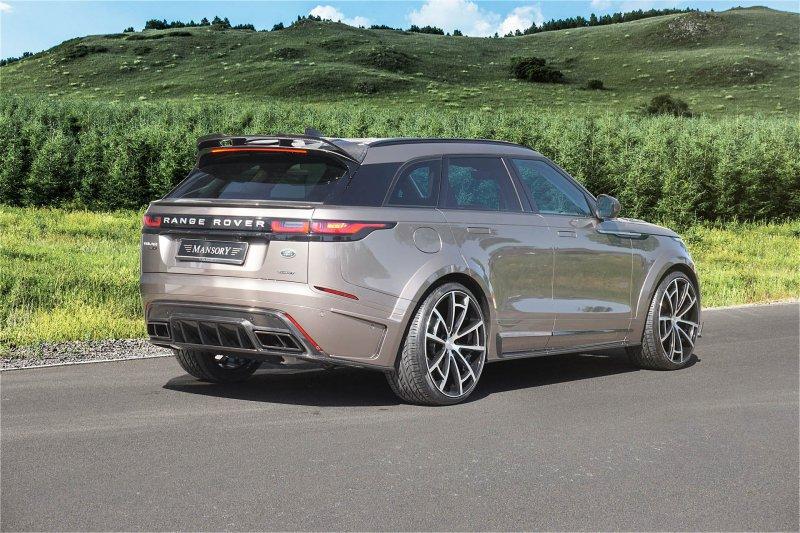 Range Rover Velar в карбоновом обвесе от Mansory