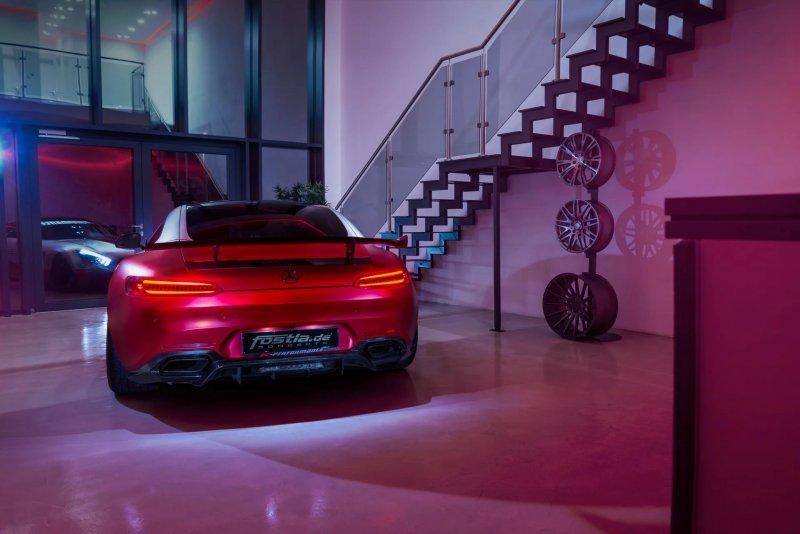 Тюнинг-комплект для Mercedes-AMG GT S от мастеров Fostla