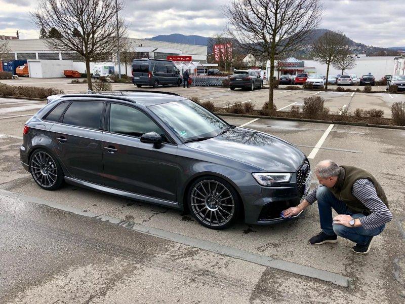 HGP Turbo «разогнали» Audi RS3 Sportback до 597 л.с.