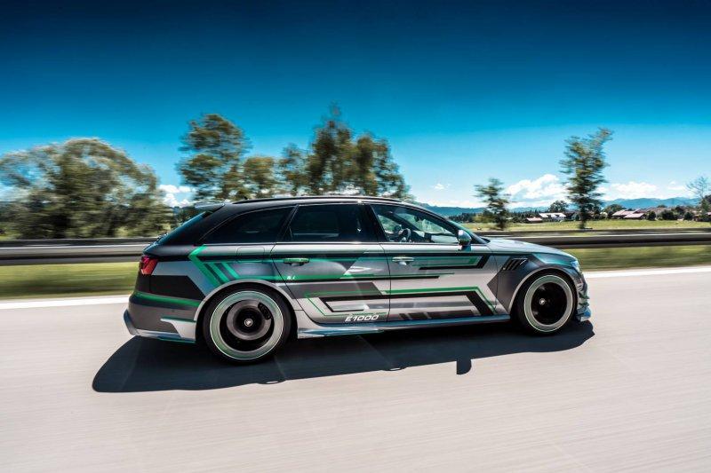 1018-сильный гибрид Audi RS6-E от ABT Sportsline